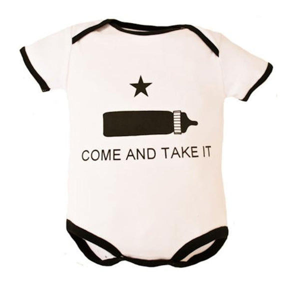 Come and Take It Bodysuit for Infants