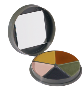 Rothco GI Type 5 Color Camo Face Paint - Round Compact
