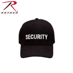 Rothco Security Supreme Low Profile Insignia Cap Black/White