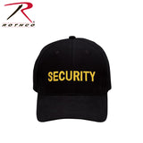 Rothco Security Supreme Low Profile Insignia Cap Black/Gold