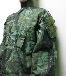 GREEN Leaf HUNTING CAMO ACU Style Jacket - CLOSEOUT Buy Now and Save !