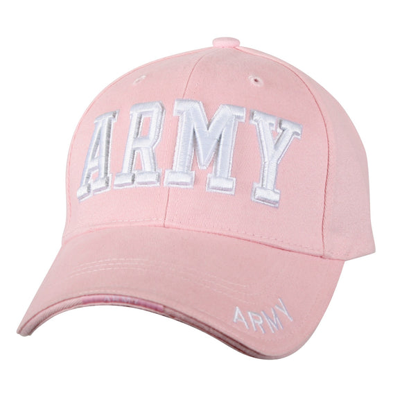 Rothco Deluxe Army Embroidered Low Profile Insignia Cap Pink