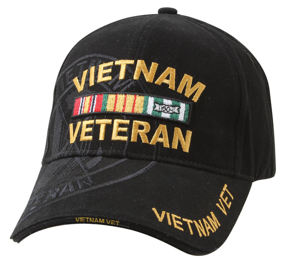 Rothco Deluxe Vietnam Veteran Military Low Profile Shadow Cap