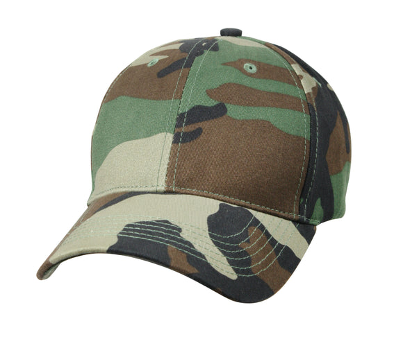 Kids Camo Cap - Low Profile Camouflage Hat