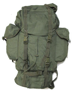 Military Uniform Supply Army Style Combat Rucksack - OLIVE DRAB