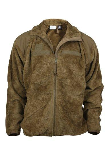 Military Generation III Level 3 ECWCS Fleece Jacket - COYOTE