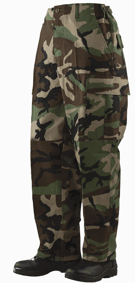 Military Uniform Supply BDU Pants - WOODLAND CAMO