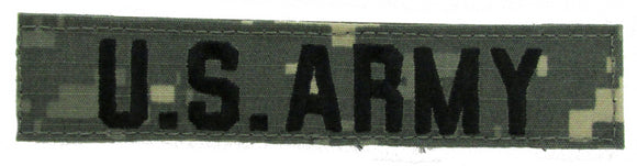 ACU Name Tape - Army and Air Force