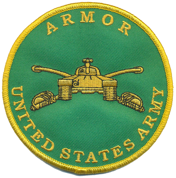 U.S. Army Armor Novelty Patch