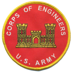 U.S. Army Corps of Engineers Novelty Patch
