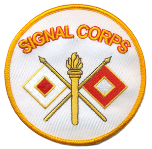 U.S. Army Signal Corps Novelty Patch