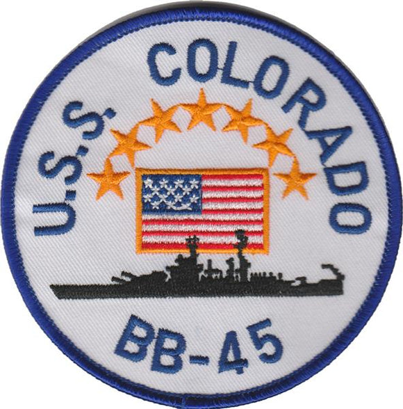 BB-45 U.S.S. Colorado USMC Patch