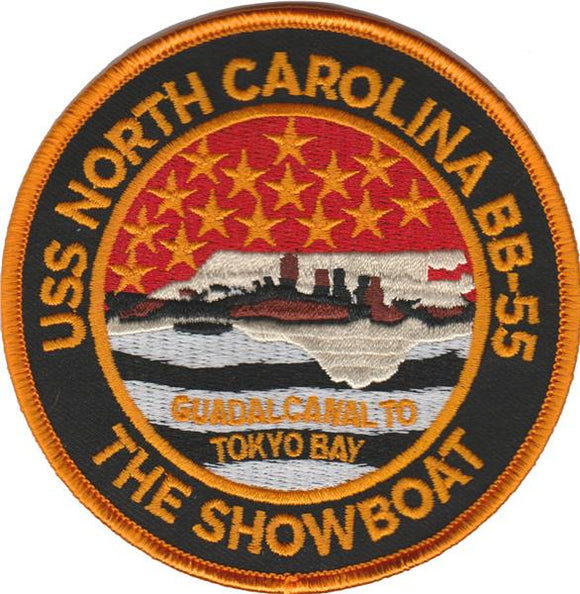 BB-55 U.S.S. North Carolina USMC Patch - The Showboat
