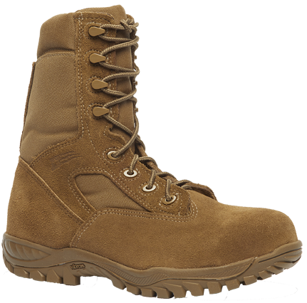 Belleville C312 ST Men's Hot Weather Tactical Steel Toe Boots - Coyote
