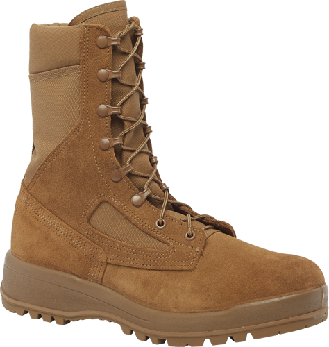 Belleville C390 Men's Hot Weather Combat Boots - Coyote