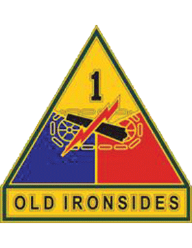 1st Armored Division CSIB - Army Combat Service Identification Badge
