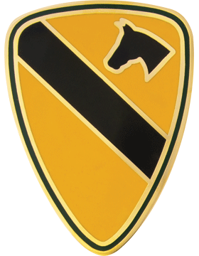 1st Cavalry Division CSIB - Army Combat Service Identification Badge