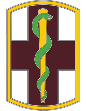 1st Medical Brigade CSIB - Army Combat Service Identification Badge