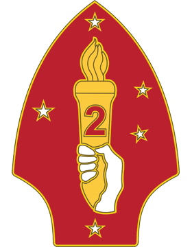 2nd Marine Division CSIB - Army Combat Service Identification Badge