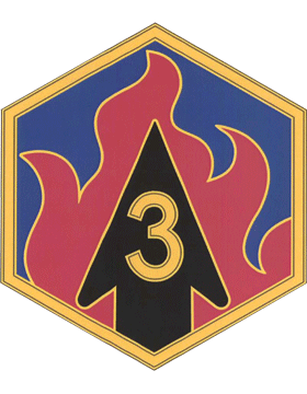 3rd Chemical Brigade CSIB - Army Combat Service Identification Badge
