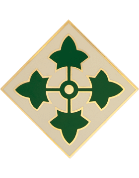 4th Infantry Division CSIB - Army Combat Service Identification Badge