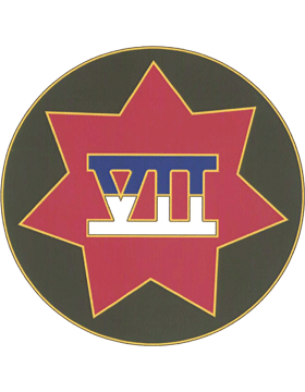 7th Corps CSIB - Army Combat Service Identification Badge