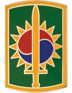 1st Corps CSIB - Army Combat Service Identification Badge