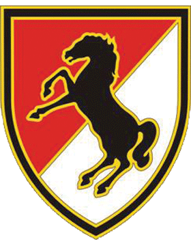 11th Armored Cavalry Regiment CSIB - Army Combat Service Identification Badge