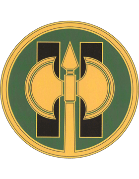 11th Military Police CSIB - Army Combat Service Identification Badge