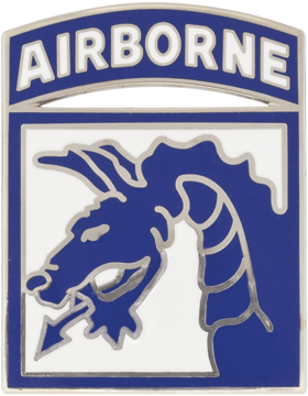 18th Airborne Corps CSIB - Army Combat Service Identification Badge