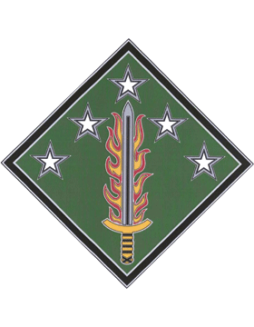 20th Support Command CSIB - Army Combat Service Identification Badge