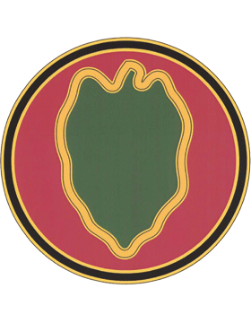 24th Infantry Division CSIB - Army Combat Service Identification Badge
