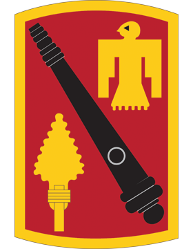 45th Fires Brigade CSIB - Army Combat Service Identification Badge