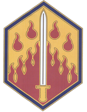48th Chemical Brigade CSIB - Army Combat Service Identification Badge