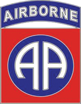 82nd Airborne Division CSIB - Army Combat Service Identification Badge