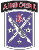 95th Civil Affairs CSIB - Army Combat Service Identification Badge