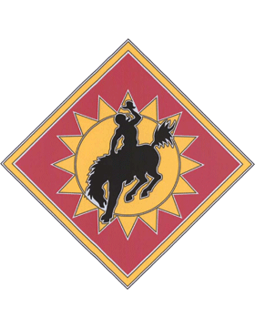 115th Field Artillery CSIB - Army Combat Service Identification Badge