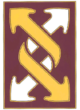 143rd Sustainment Command CSIB - Army Combat Service Identification Badge