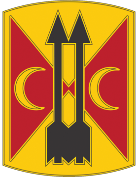 212th Fires Brigade CSIB - Army Combat Service Identification Badge
