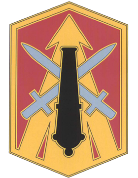 214th Fires Brigade CSIB - Army Combat Service Identification Badge