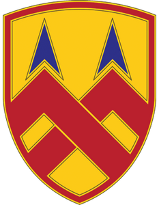 377th Sustainment CSIB - Army Combat Service Identification Badge