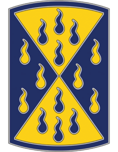464th Chemical Brigade CSIB - Army Combat Service Identification Badge