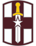 807th Medical Command CSIB - Army Combat Service Identification Badge