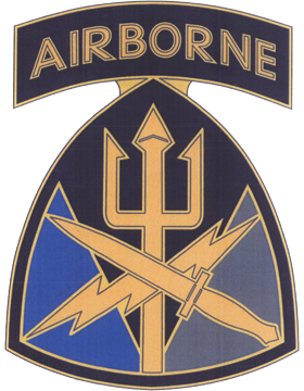 Special Operations Command Joint CSIB - Army Combat Service Identification Badge