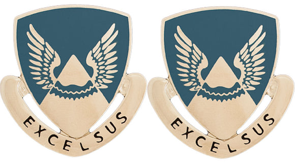 2nd Aviation Distinctive Unit Insignia - Pair - EXCELSUS