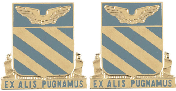 3rd Aviation Distinctive Unit Insignia - Pair