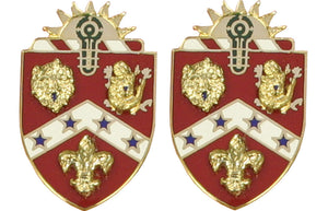 3rd Field Artillery Distinctive Unit Insignia - Pair