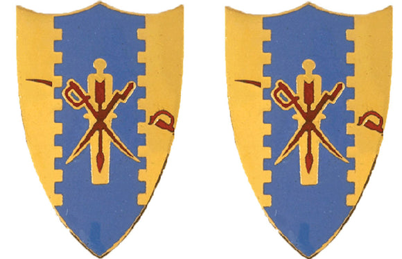4th Cavalry Distinctive Unit Insignia - Pair