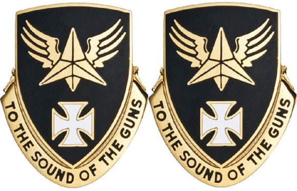 8th Aviation Battalion Distinctive Unit Insignia - Pair - TO THE SOUND OF THE GUNS