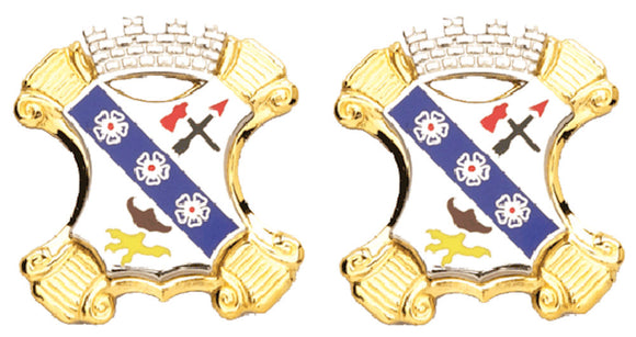 8th Infantry Distinctive Unit Insignia - Pair